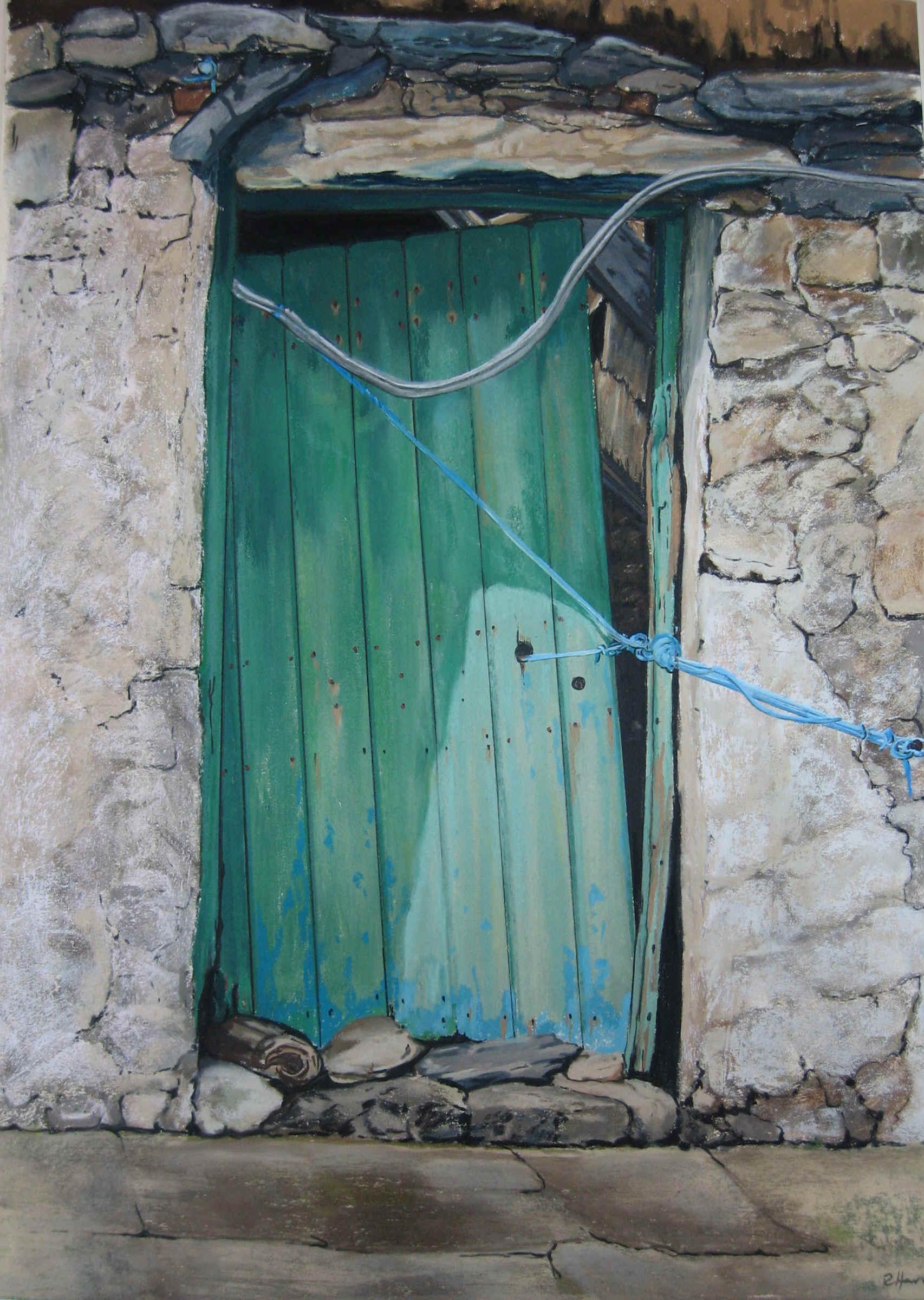 2400 #38766F Doors: Green Door save image Harvey Doors 43271706