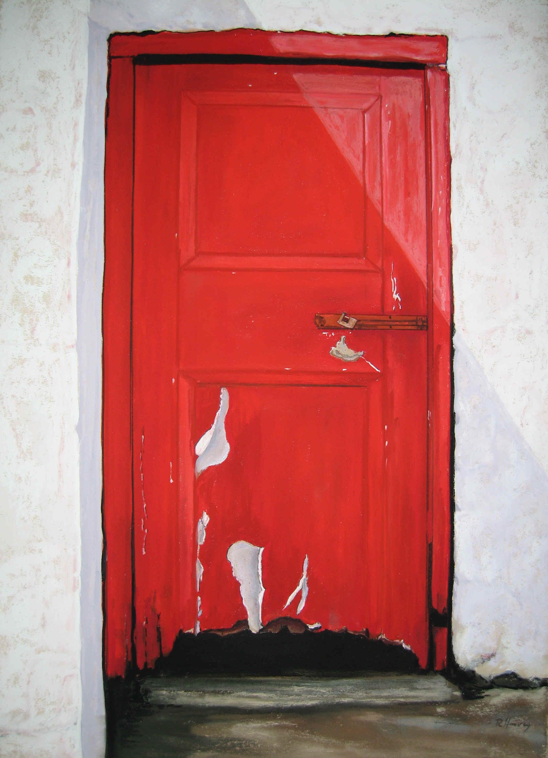 Red door.jpg (1928908 bytes) & Doors: Red Door