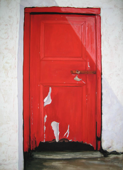 Red Door in Inishowen